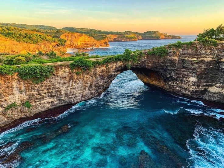 ☼ Unterbrochener Strand (Nusa Penida) 🎒🌏🏝🇮🇩. ..……. ….. …… ein… – Beach