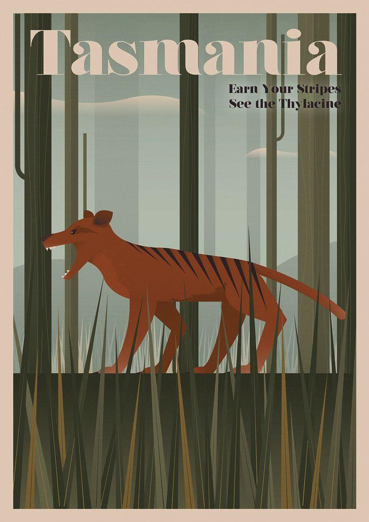 Tasmania – Thylacine