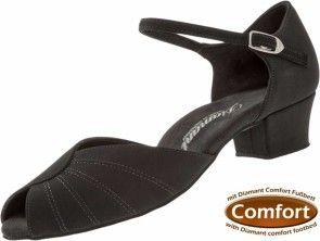 Diamant Tanzschuhe 001-103-040 mit Fußbett für den West Coast Swing