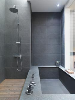 THESE TILES  tub shower combinations | Design Ideas for Shower Tub Combos