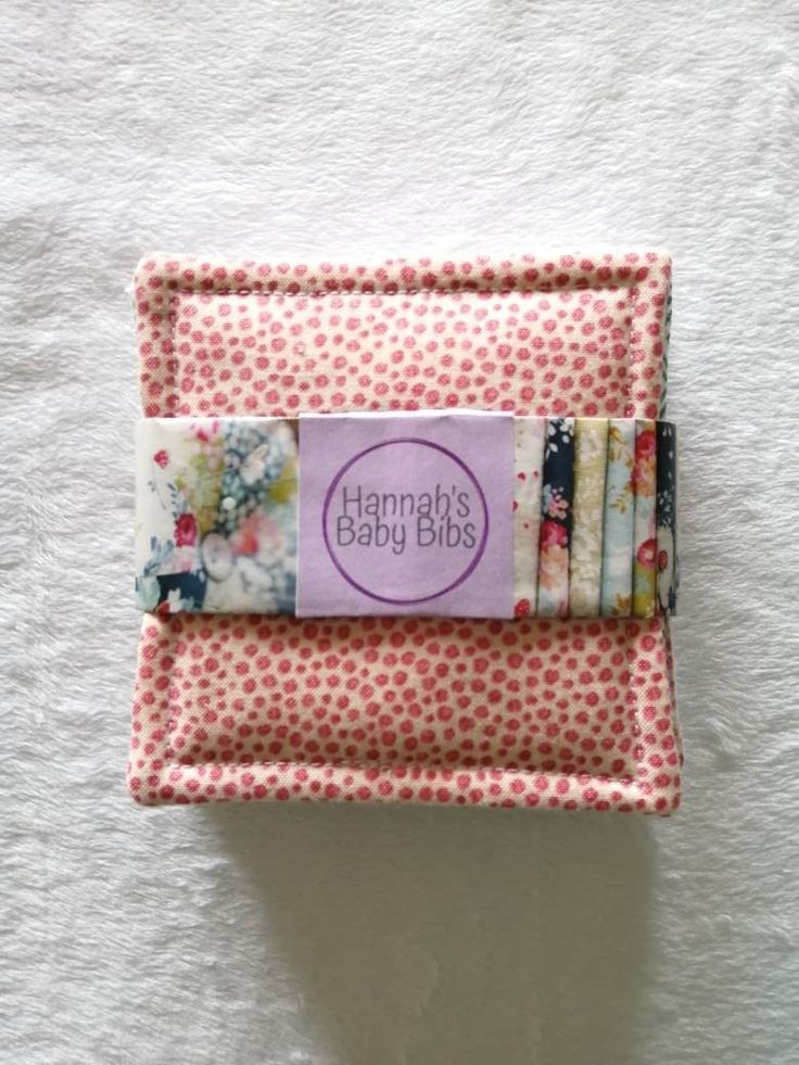 Eco friendly flannel wipes, pastel reusable cotton cloths