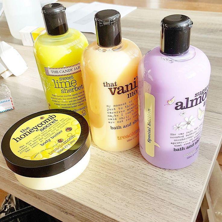 Vandaag deze heerlijke producten gekocht bij Trekpleister voor maar 1 euro per stuk! Veel was al weg dus ik nam direct alles mee wat ik lekker vond haha! #treaclemoon #blogger #blog #beauty #trekpleister #douche #bad