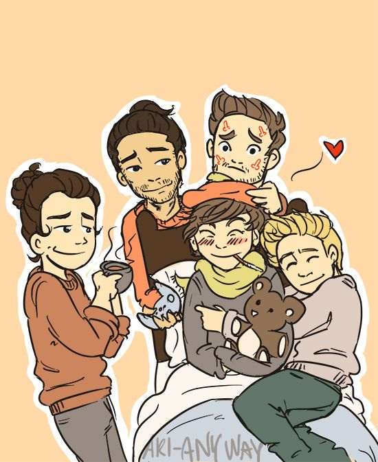 52 best images about Cute One Direction fan art on ...