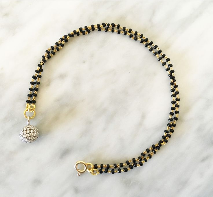Magic Ball Mangalsutra Bracelet