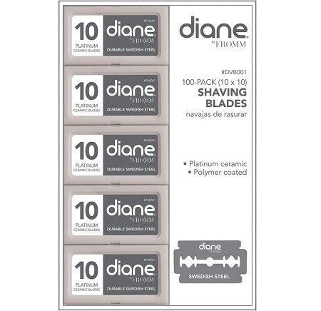 Diane Double Edge Shaving Blades - 100 Blades #DVB001 $6.95  Visit www.BarberSalon.com One stop shopping for Professional Barber Supplies, Salon Supplies, Hair & Wigs, Professional Product. GUARANTEE LOW PRICES!!! #barbersupply #barbersupplies #salonsupply #salonsupplies #beautysupply #beautysupplies #barber #salon #hair #wig #deals #sales #doubleedge #razor #blade #diane #dvb001