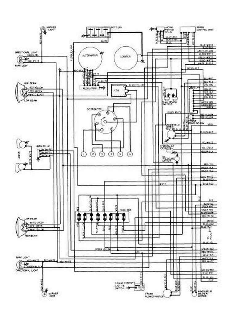 2080 Of2 Wiring Diagram In 2020 Schaltplan Chevy 1951 Chevy Truck