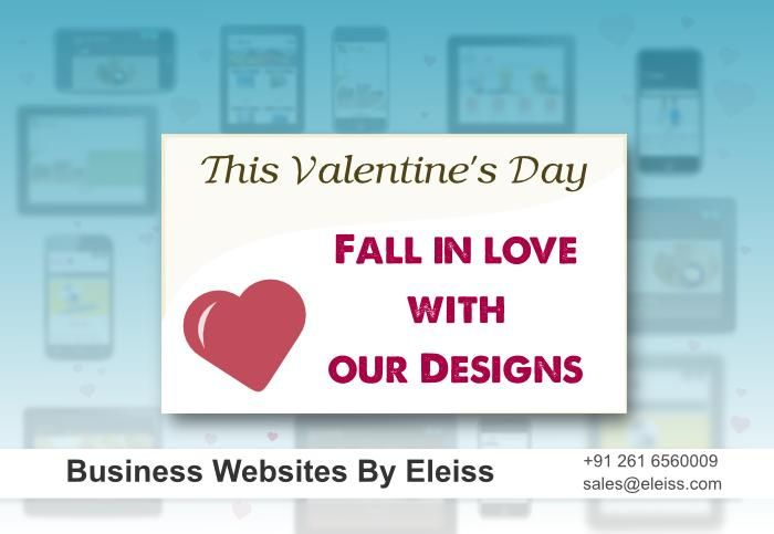 This ‪#‎valentinesday‬ fall in #love with our #designs Business #websites by #eleiss