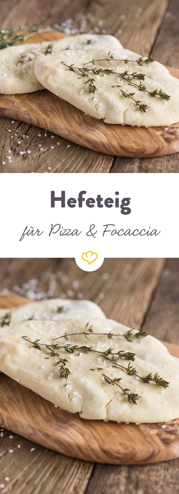 Manche mögen's kalt - herzhafter Hefeteig zum Beispiel. Dieser kommt zum Gehen in den Kühlschrank. Der ideale Grundteig für Pizza, Focaccia und Co.