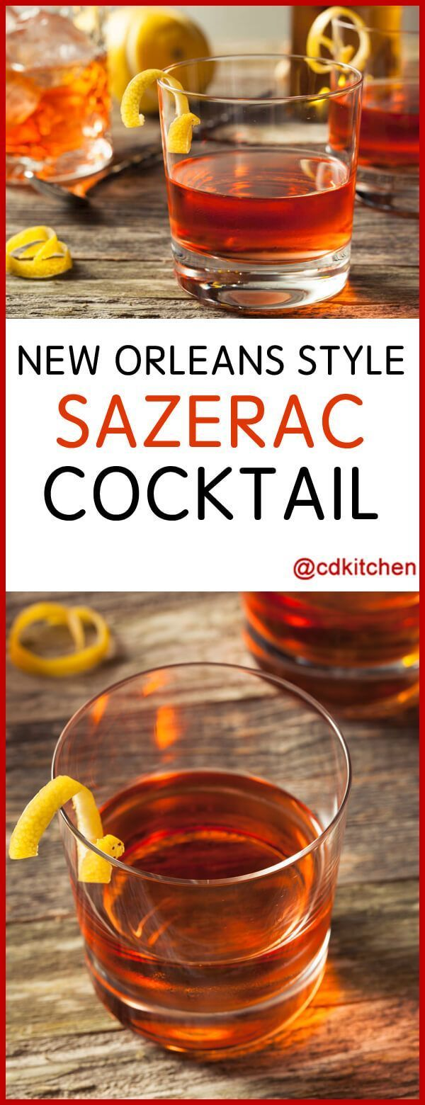 The 25 best sazerac cocktail ideas on pinterest pimms for Classic new orleans cocktails