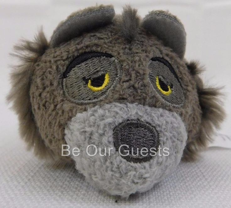 Disney Store Raksha Jungle Book Tsum Tsum Plush Mini New