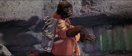 Robinson Crusoe on Mars (1964) Mona the monkey