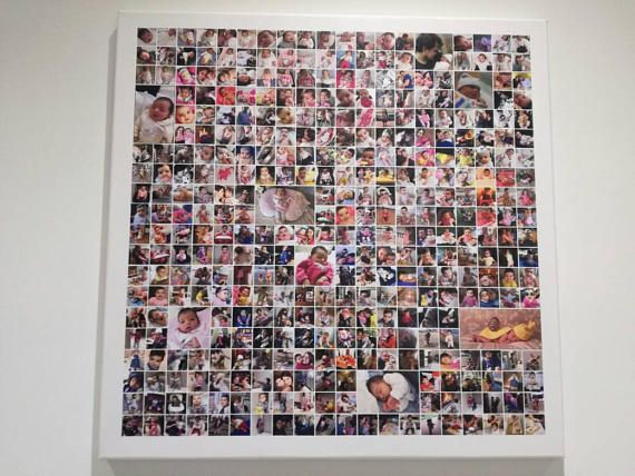 Painting with 365 photos for first year wedding photography