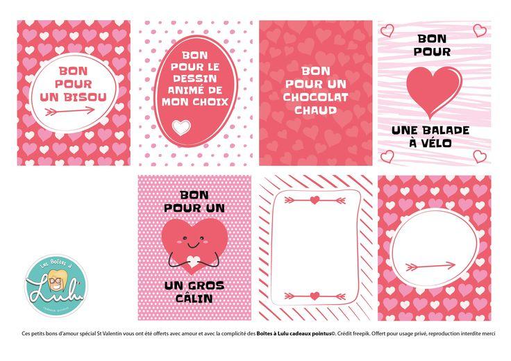 Tout plein de petits DIY pour la fête des amoureux. Saint-Valentin réussi pour les petits et les grands !