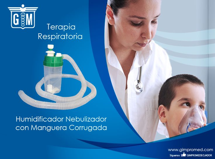 Gimpromed - Catálogo Terapia Respiratoria Producto: Humidificador Nebulizador con Manguera Corrugada