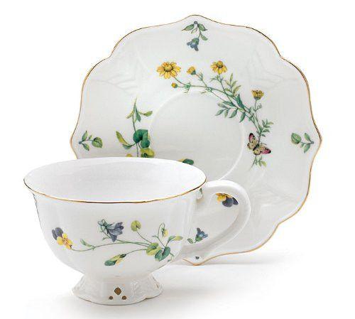Lucinda Belle Porcelain    Teacup and Saucer