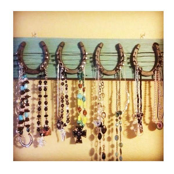 Diy Rustic Jewelry Rack Ideas Jewelry Rackdiy Jewelrycaravan Decorcowgirl Bedroomrustic