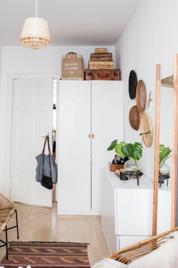 Charming Kleines Schlafzimmer Einrichten | Room Inspiration | Pinterest | Rattan And  Interiors