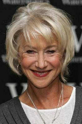 Hairstyles for Women Over Age 50--Helen is a classic. Love her hair.