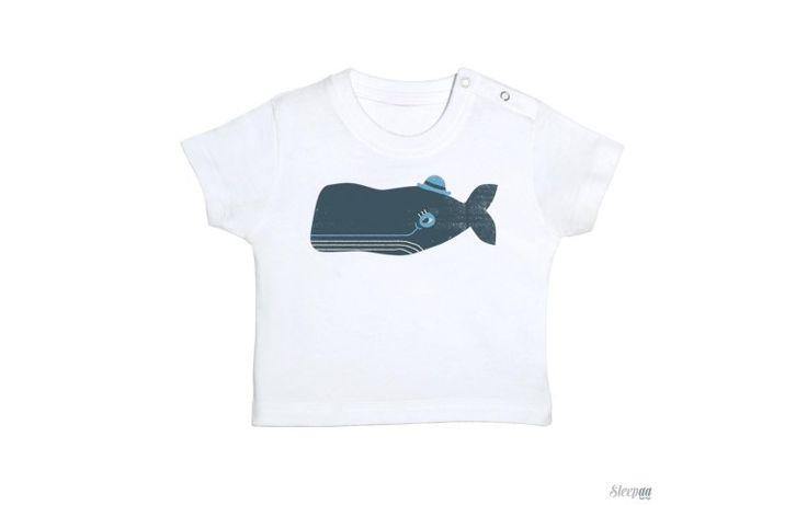Camiseta bebé MRS WHALE