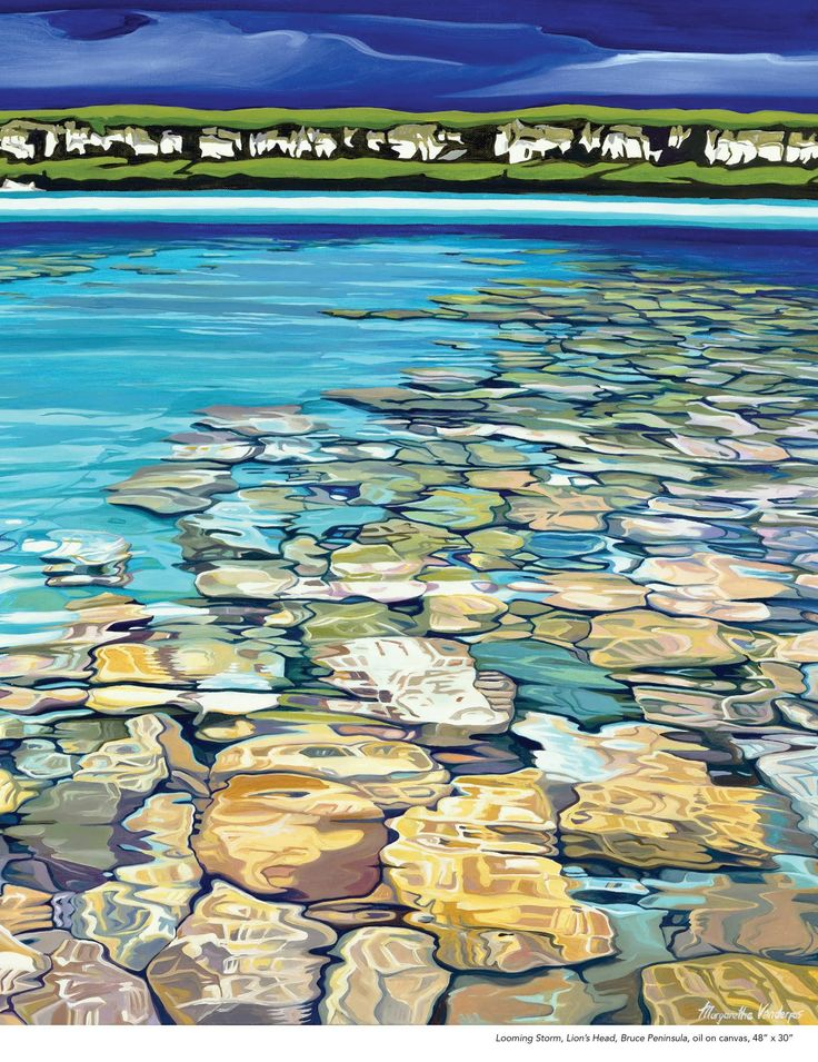 Waterscapes by Margarethe Vanderpas