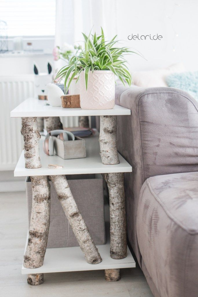 Birken Baum Regal DIY Für Unter 40u20ac U2013 Wohnzimmer