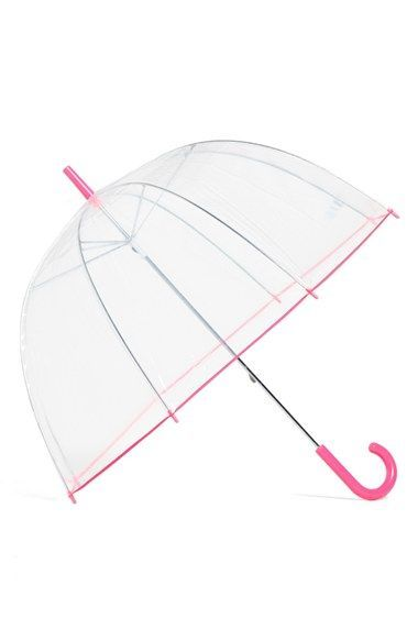 Free shipping and returns on Capelli of New York Dome Umbrella at Nordstrom.com. Don't let drizzly days get you down—sport a bit of vibrant color with this clear dome umbrella that lets you see those puddles before you take a step.