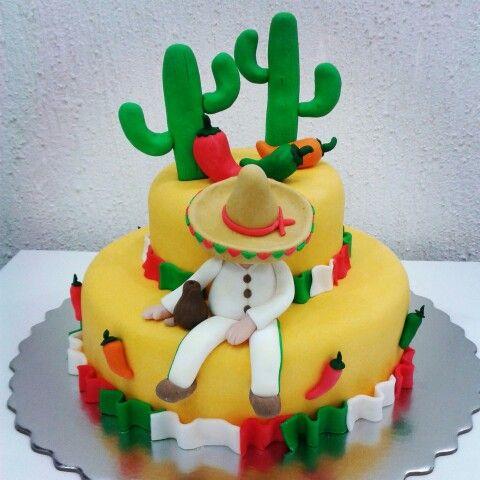 Torta Estilo Mexicana D Nevescake Pinterest
