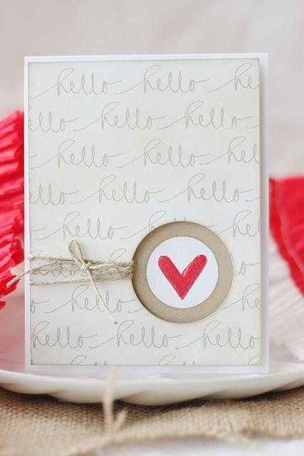 Hello Card - Precious Remembrance Shop Stamps