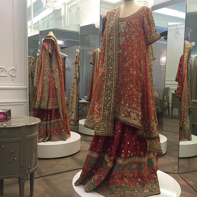 Haute couture dreams #instoreevent #sept23-24 #lahore #Bejeweled #MishaLakhani