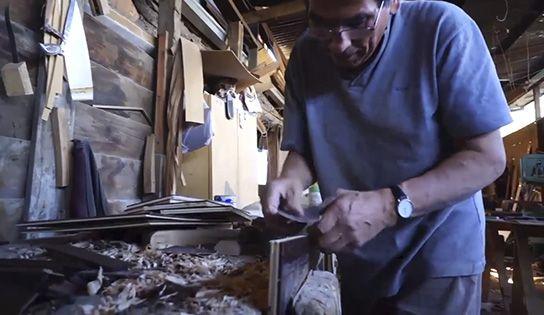 Tinto recicla la madera de las barricas para hacer revestimientos en...
