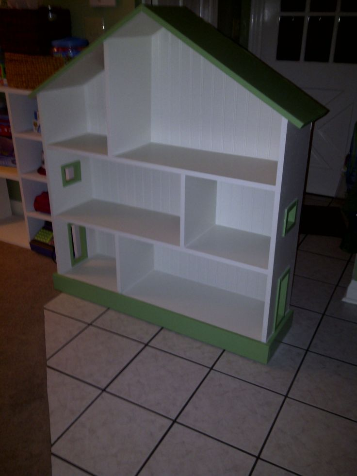 Plans For Dollhouse Bookcase Woodworking Projects Plans