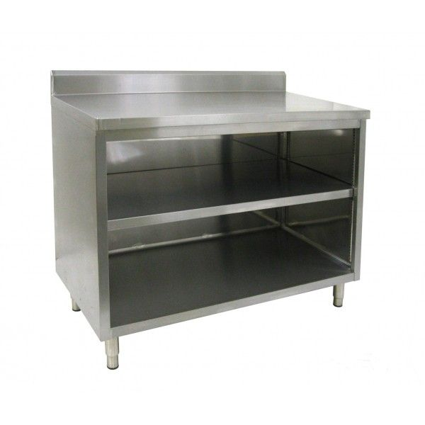 25 best ideas about stainless steel work table on pinterest stainless steel island stainless steel table and kitchen work tables - Stainless Steel Work Table With Backsplash