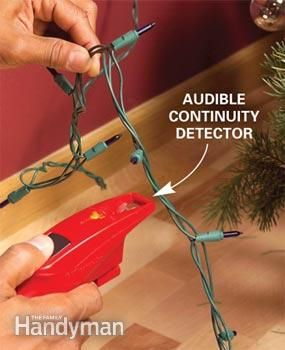 Use a Christmas Light Tester to Check Holiday Lights