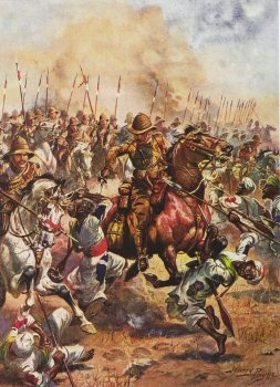 Charge of the 21st Lancers, Battle of Omdurman by Harry Payne