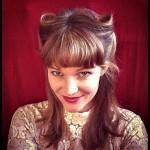 The Hair Rat. A spooky yet awesome vintage hairstyling trick