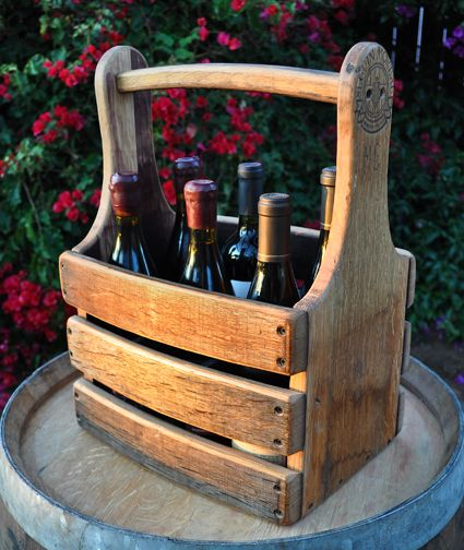 Wine Barrel Furniture Wine Carrier