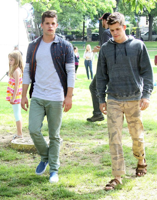 Your parents must be proud. | Hot Twin Charlie Carver Spoon Feeds Equally Hot Brother Max Carver