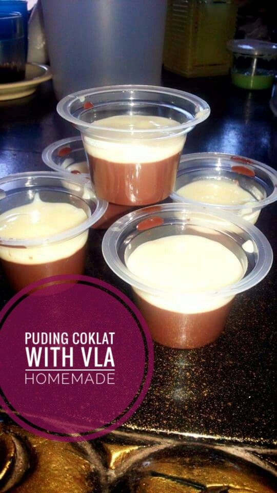 Puding Coklat with Vla,,