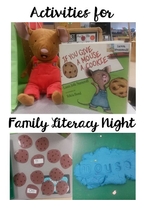 Activities for Family Literacy Night (Plus a FREEBIE!)