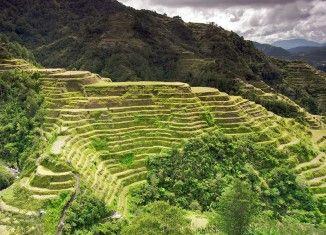 Banauen riisiterassit – jättiläisen portaat Filippiinit