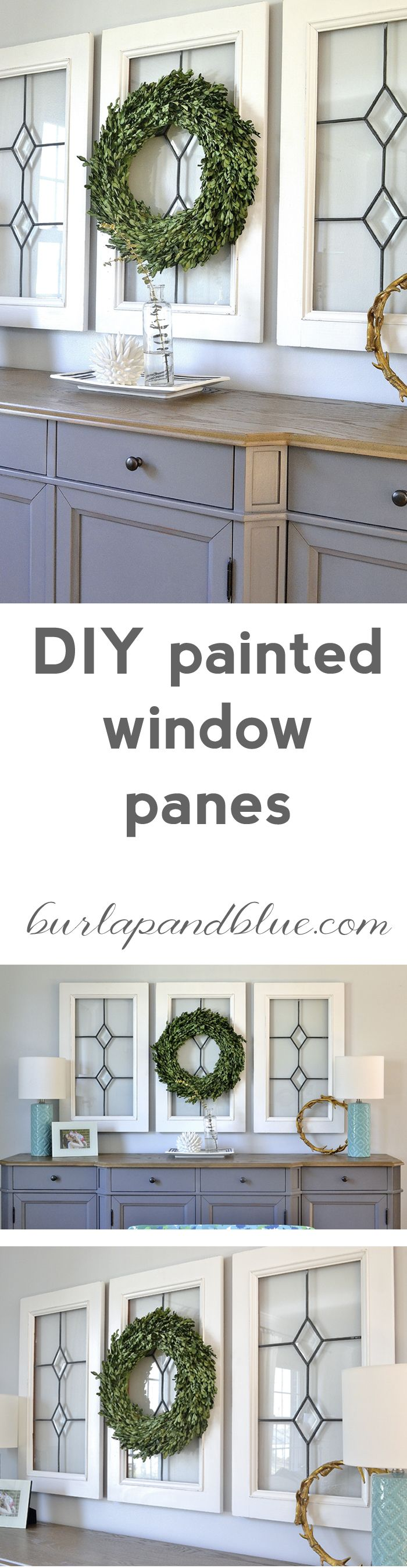 8 Pane Window Frame Best 25 Painted Window Panes Ideas On Pinterest Recycled