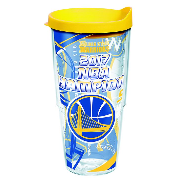 Tervis Golden State Warriors 2017 NBA Champions 24-Ounce Tumbler, Multicolor