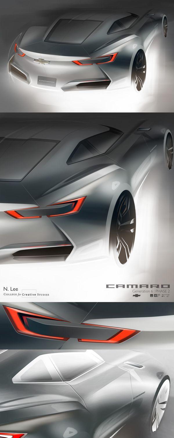 Camaro : Generation 6 by Namsuk Lee, via Behance