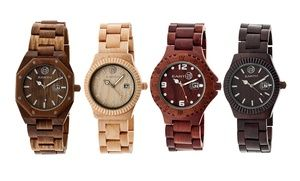Groupon - Unisex Earth Wood Watches in [missing {{location}} value]. Groupon deal price: $57.99