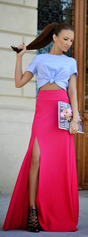 Daily New Fashion : Wear Pink Challenge