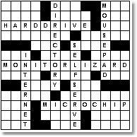 Create crossword puzzles for guests to complete with information about the bride & groom (Nick would love making this!)