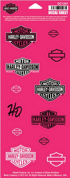 1000 ideas about harley davidson decals on pinterest for Harley davidson motor company group inc