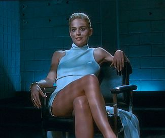 Basic Instinct 1992 Interrogation Scene With Sharon