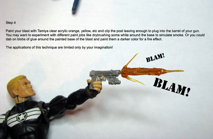 Jin Saotome's guide to hotgluing your action figures