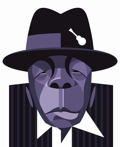 John Lee Hooker - by Fabio P. Corazza